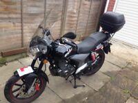 KSR learner legal 125 cc motorbike