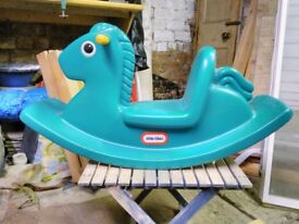 Little Tikes toy rocking horse
