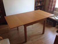 IKEA BJURSTA folding table
