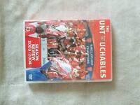 Arsenal DVD ,The Untouchables season 2003-2004.DVD