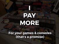 WANTED - Video Games & Consoles - Nintendo, Sega, Playstation, Commodore, etc.
