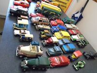 second lot of vintage diecast cars collectables vans