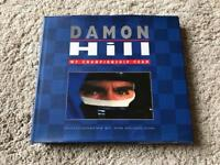 SIGNED Damon Hill F1 World Champion Book AUTOGRAPH - Postage Included