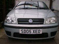 2005 Fiat Punto. 1 YEAR MOT, Great car inside and out,very economical. ( see description )