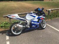 Suzuki gsxr 600 k2 low miles full mot swap