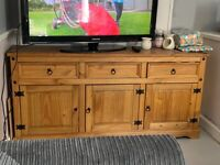 Solid wood tv stand/sideboard