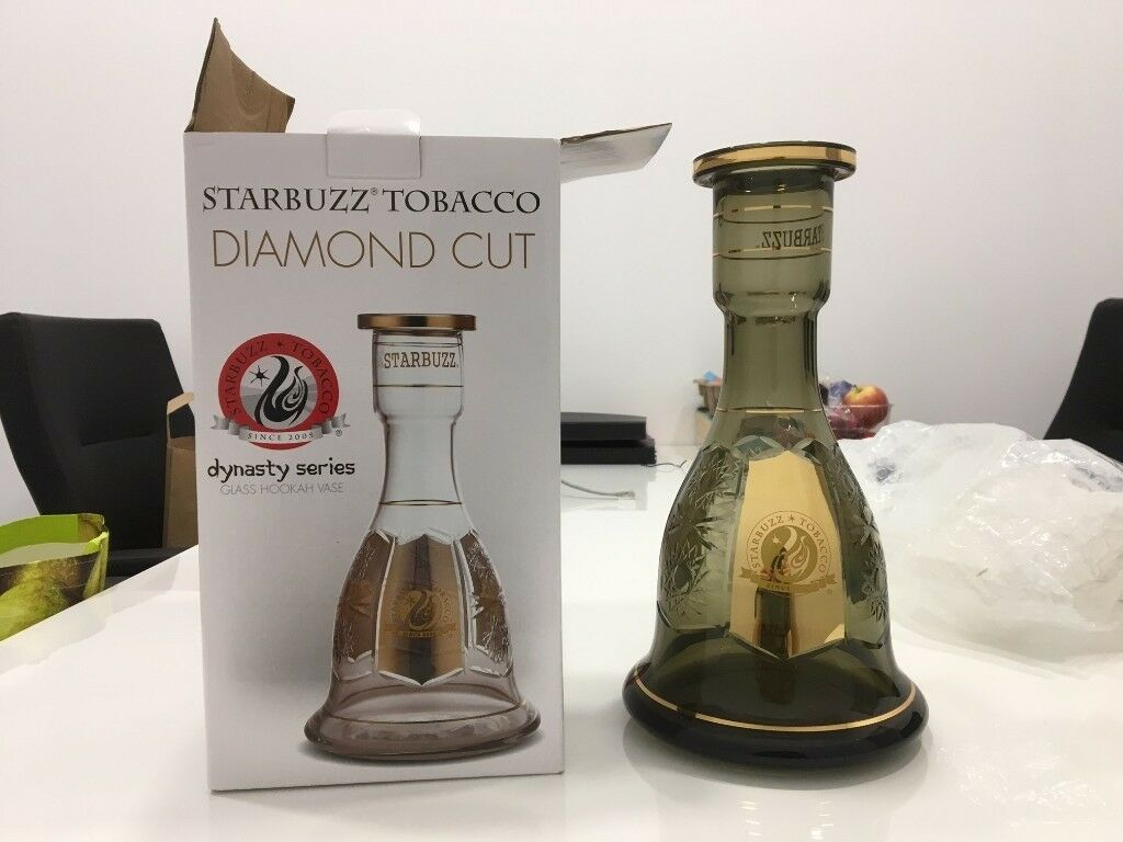 NEW! Starbuzz Tobacco Diamond Cut Base Hookah
