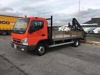 Mitsubishi Fuso Canter Crane Truck