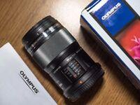 Olympus M.ZUIKO 60mm f2.8 Macro DIGITAL ED Lens - Black