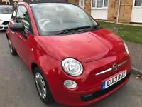 Beautiful Fiat 500c In Red, F/F/S/H, Low Mileage, Immaculate!