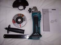 NEW MAKITA 18V LXT CORDLESS GRINDER