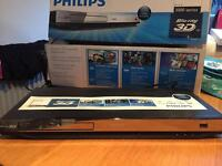 Phillips 3D Blu-ray DVD player
