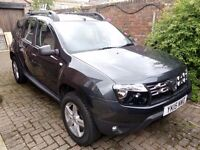 2015 DACIA DUSTER 1.5 DCI 107 BHP AMBIANCE 4X2. only 12,700miles