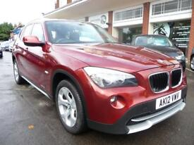 BMW X1 2.0 XDRIVE18D SE 5d 141 BHP (red) 2012
