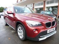 BMW X1 2.0 XDRIVE18D SE 5d 141 BHP (red) 2012