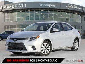 2016 Toyota Corolla LE: ACCIDENT FREE & LOCALLY OWNED