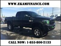 2008 Dodge Ram 3500 SLT Quad Cab 4X4 6.5Ft Box, Lifted Truck