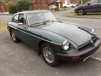 MGB GT Reluctant sale of my childhood dream car due to lack of parking and company car