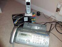 Panasonic Fax Telephone Answer Machine. KX-FC255