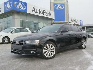 2013 Audi A4 2.0T/BLUETOOTH/HEATED LEATHER SEATS/SUNROOF/CRUISE