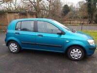 Hyundai Getz 5 seater for sale