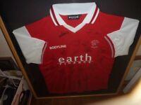 rotherham memorabillia shirt 2007 2008