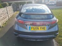 Honda Civic 1.8 l petrol 2006 LOW MILLAGE Good Condition