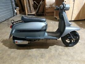 SCOMADI TL125 FOR SALE AS NEW