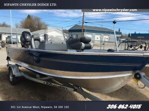 2017 Lund Boat Co 1600 Fury SS