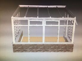 Lean To Conservatory for Sale direct from manufacturer. NEW. cancelled contract 4m x 3m