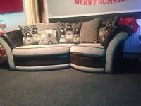 Snuggle sofa & Swirl chair