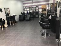 Hairdresser rent a chair