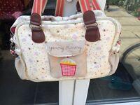 Yummy mummy changing bag, Mat and nappy case