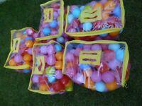 500 Balls for Ball Pits