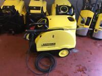 KARCHER HDS 551 ECO HOT COLD PRESSURE WASHER STEAM CLEANER CAR TRUCK JET WASH