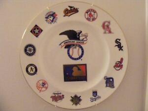 "FS: Royal Doulton ""MLB 125th Anniversary"" A.L. Collector Plate London Ontario image 1"