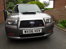 Subaru Forester Sti. Registered NEW in UK August 2006 not as a used import. A rare enthusiast car.