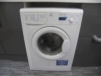 Indesit WIXXE127 , 7kg , 1200 Spin , White Freestanding Washing Machine.