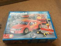 Playmobil 4321 garage and tuning shop
