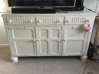 Vintage sideboard. Tv unit. Shabby chic