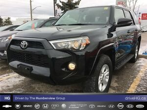 2016 Toyota 4Runner Navigation, leather seating and lowest kilom