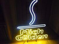 michlob golden neon bar sign £70