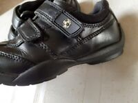 M&S boys leather shoe like new size 12.5
