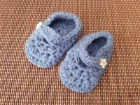 Handcrafted Baby Mary Jane Shoes - Baby Shower Gift idea