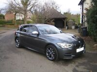 2012 62 BMW M135i 5DR HATCHBACK DCT *PRO NAV/CRUISE/COMFORT PACK/XENONS ETC..*MAY PX