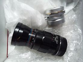 Voightlander lenses, 90 mm f3.5 and 28mm f3.5
