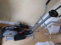 OLYMPUS ELIPTICAL TRAINER EXERCISE MACHINE TREADMILL CROSS STRIDER machine