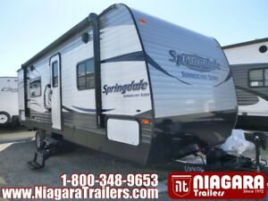 2016 Keystone Summerland 2450RB Travel Trailer
