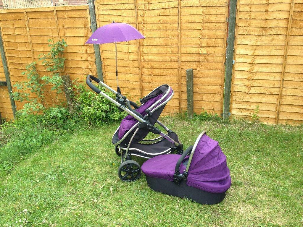 Icandy Strawberry Elderberry Icandy Strawberry Pushchair/