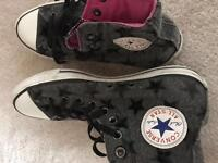 Converse all star star style grey size 7